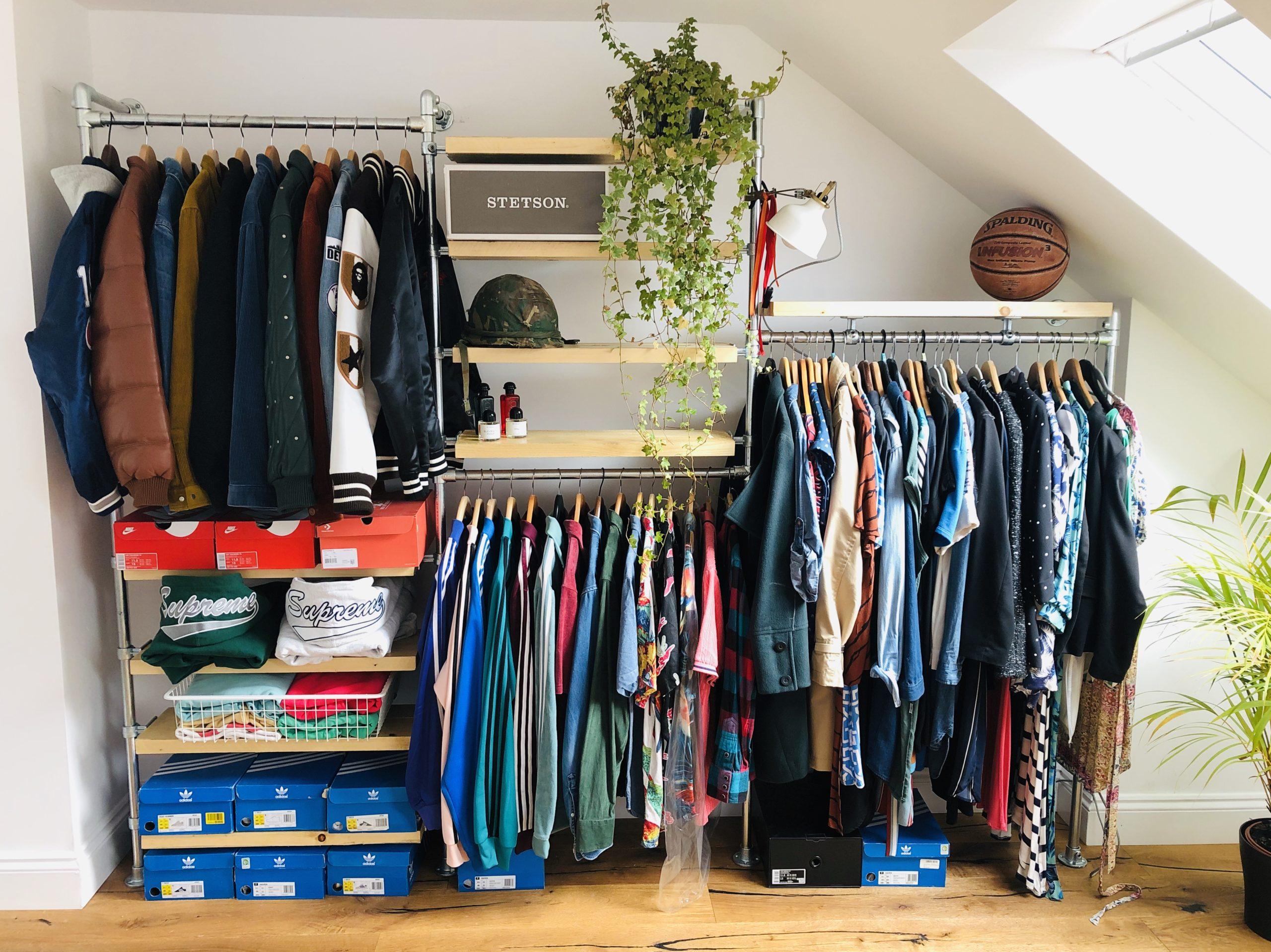 Scaffold Wardrobe Clothes Clothing RAil