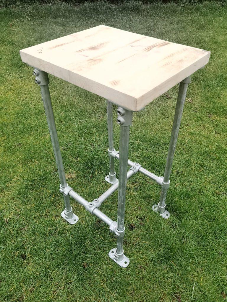 scaffold tube pipe board bench seat bar chair